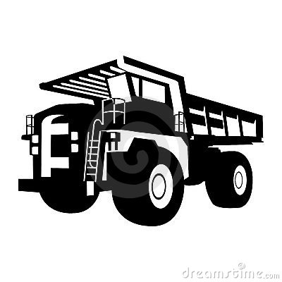 Quarry Truck Royalty Free Stock Photo.