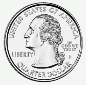 Free Clipart Quarter.