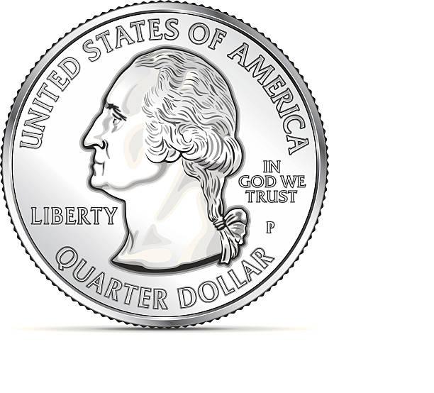 Quarter clipart.
