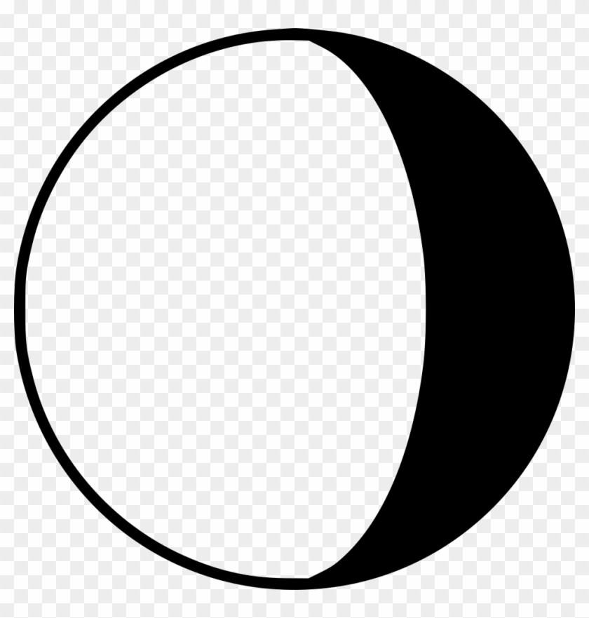 Last quarter moon clipart 3 » Clipart Portal.