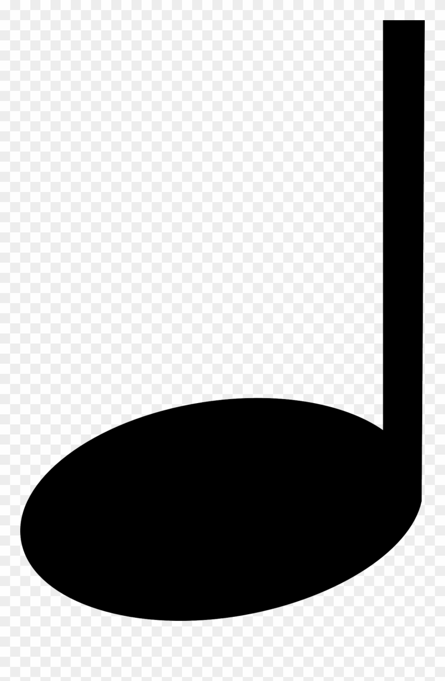 Music Clipart Quarter Note.