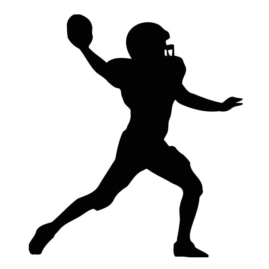 34+ Quarterback Clipart.