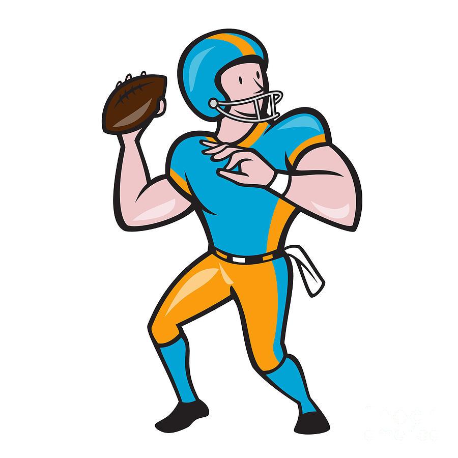Quarterback Clip Art.