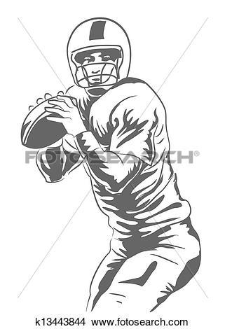 Quarterback Clipart EPS Images. 2,536 quarterback clip art vector.