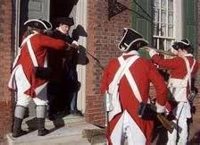 The Quartering Act was a law passed by King George lll which.