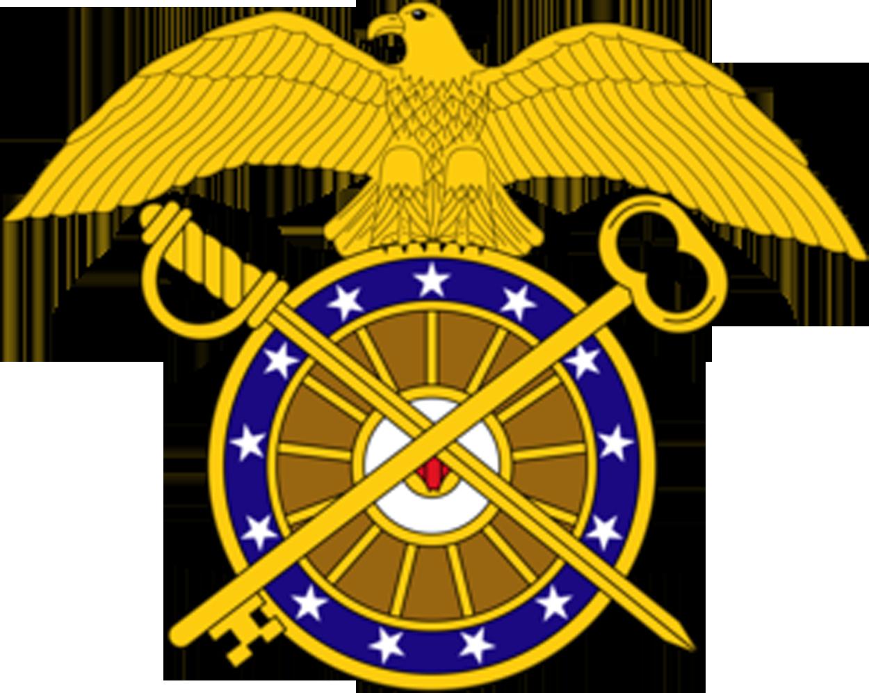 Quartermaster Crest Clipart.