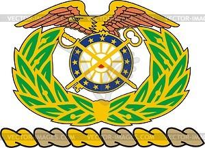 U.S. Quartermaster Corps crest.