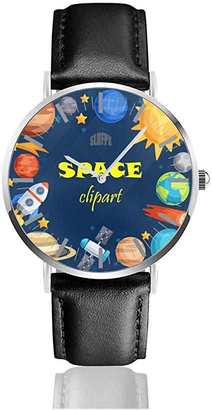 Amazon.com: Planets Solar System Mens Watches Chronograph.