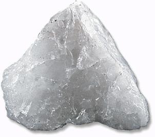 milk quartz.