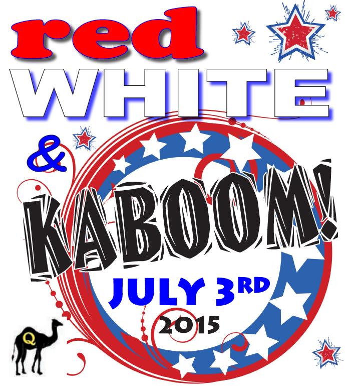 Desert Messenger, Quartzsite, AZ: Quartzsite Red, White & Kaboom.