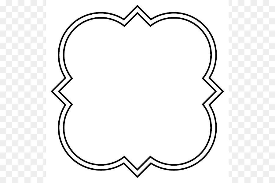 Download Free png Quatrefoil Shape Clip art Quatrefoil Shape.