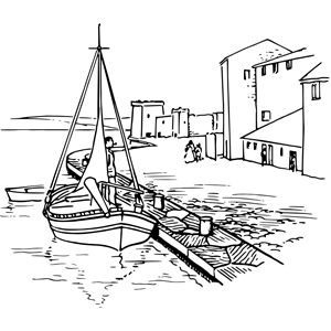 Quayside clipart, cliparts of Quayside free download (wmf, eps.