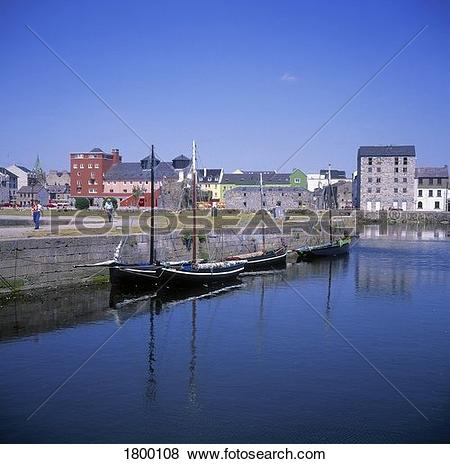 Pictures of RIver Corrib and Quays, Galway City, Co Galway.