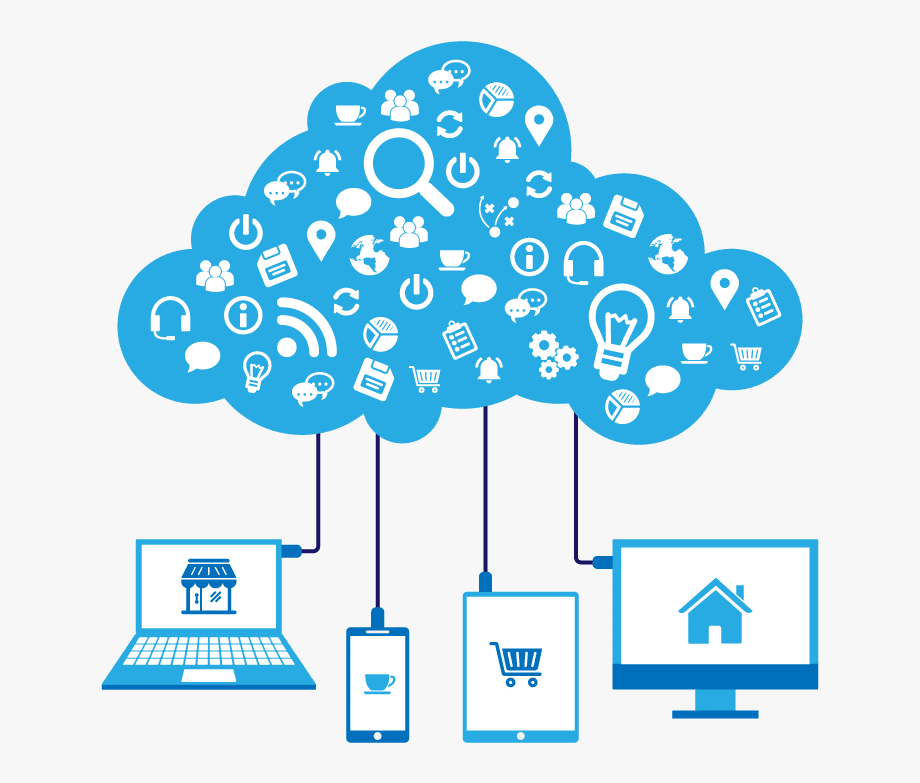Cloud Computing Clipart Management Information System.