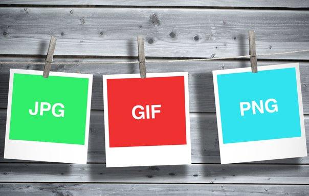 PNG, GIF, o JPEG. ¿Cuál es el mejor formato de imagen para.