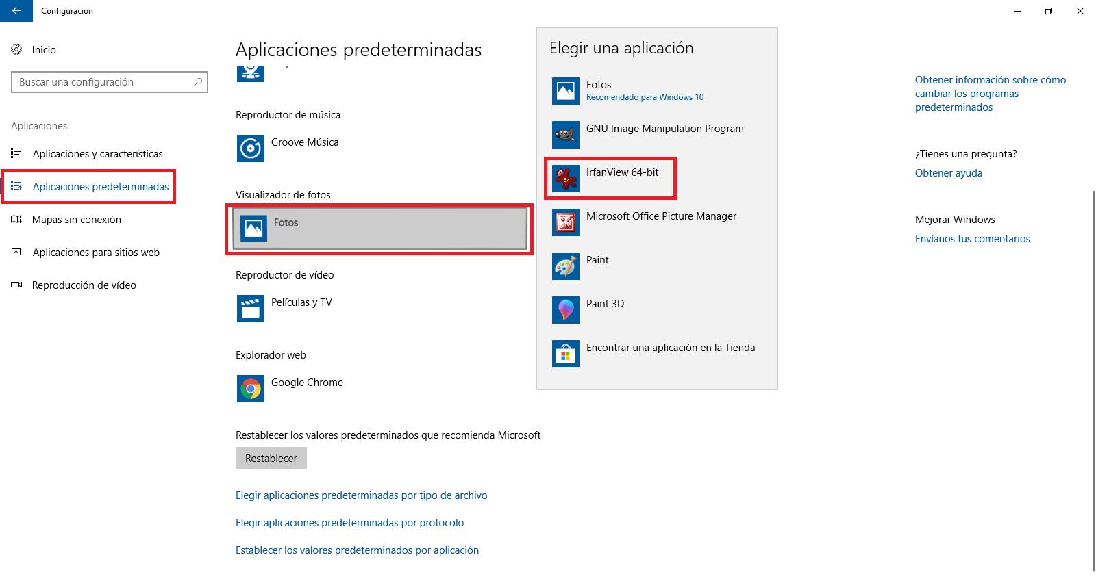 Como solucionar: Imágenes JPG no se abren en Windows 10 (app.