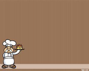 Chef plantilla de PowerPoint es un fondo chef gratuito para.