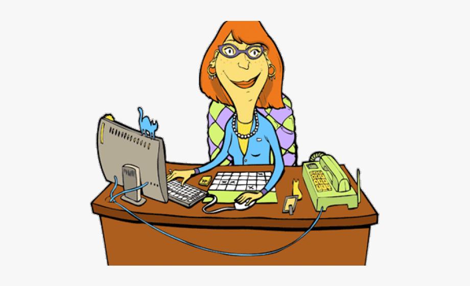 Secretary Clipart School Secretary.