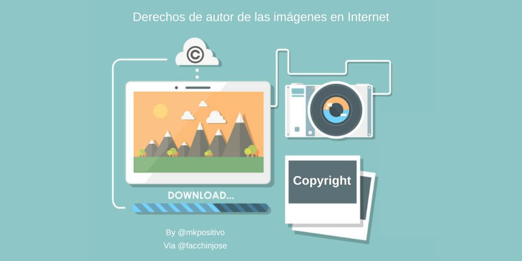 Conoces los derechos de autor de las imágenes en Internet?.