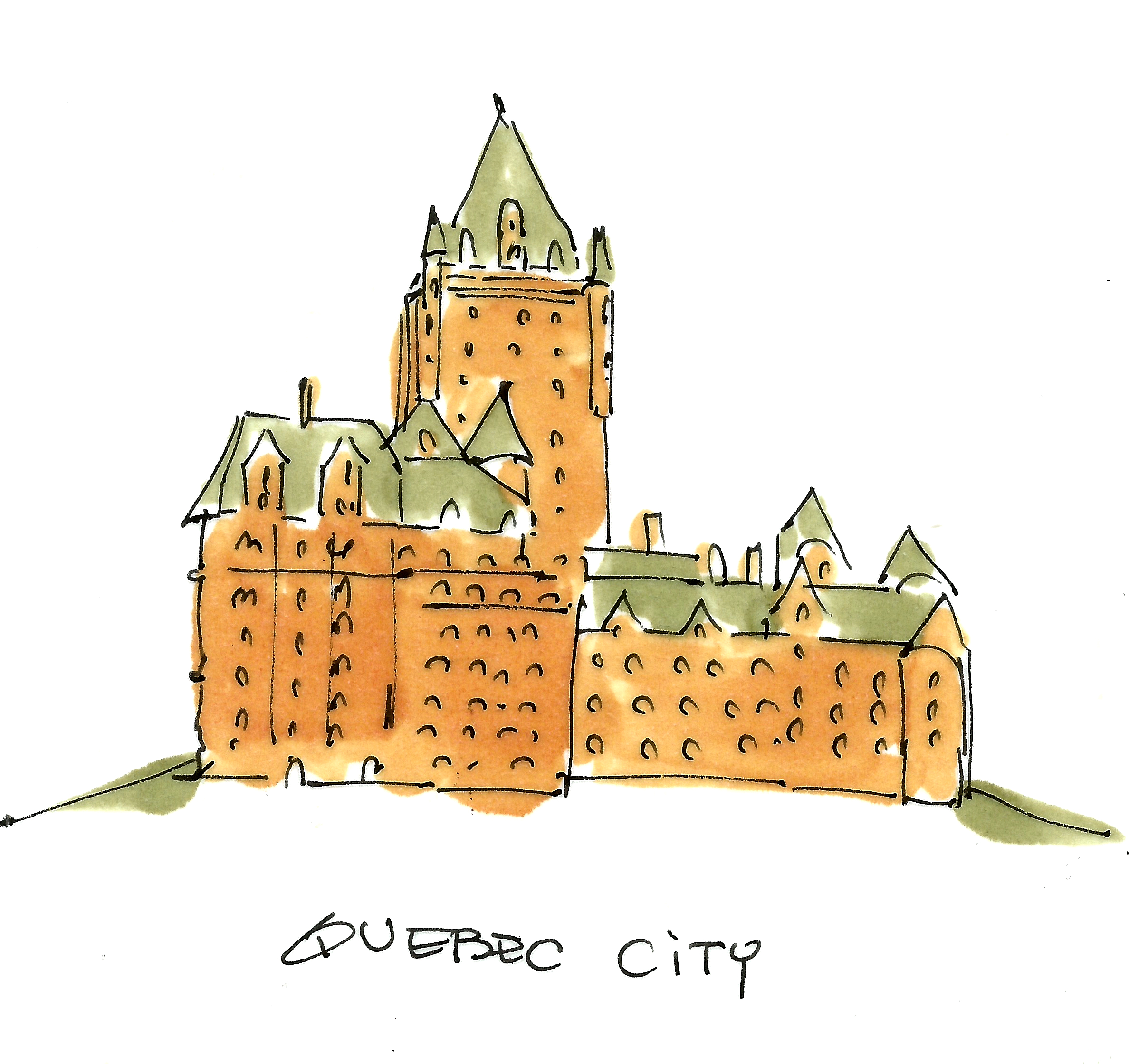 Quebec City Clipart.