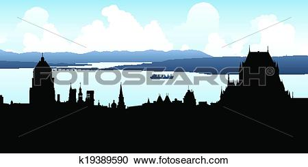 Quebec city Clip Art and Illustration. 112 quebec city clipart.