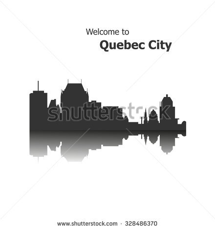 Quebec City, Canada Stock Vector Illustration 328486370 : Shutterstock.