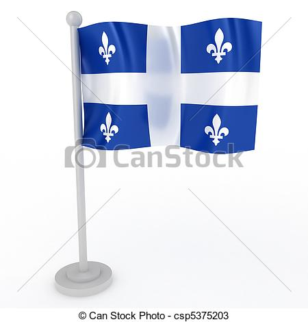 Flag of quebec Illustrations and Clip Art. 249 Flag of quebec.