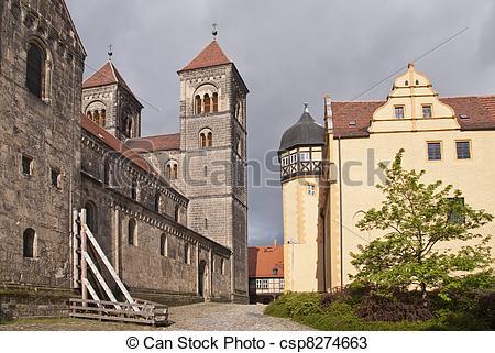 Stock Photos of Quedlinburg, Germany csp8274663.