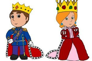 Queen and king clipart 6 » Clipart Portal.