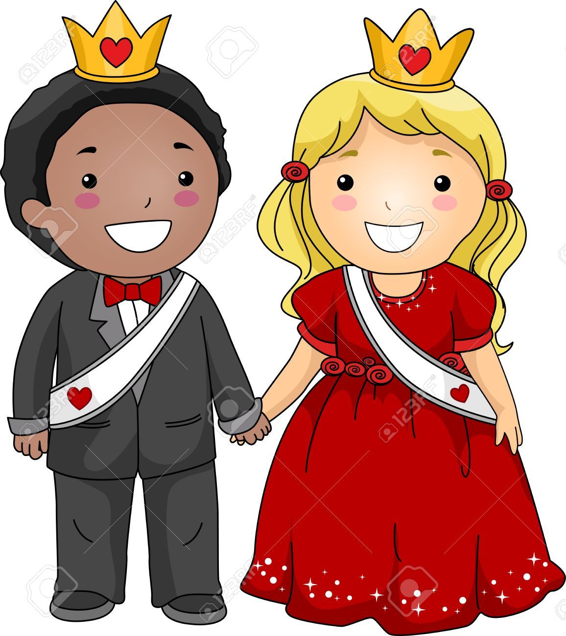 Queen and king clipart 2 » Clipart Portal.