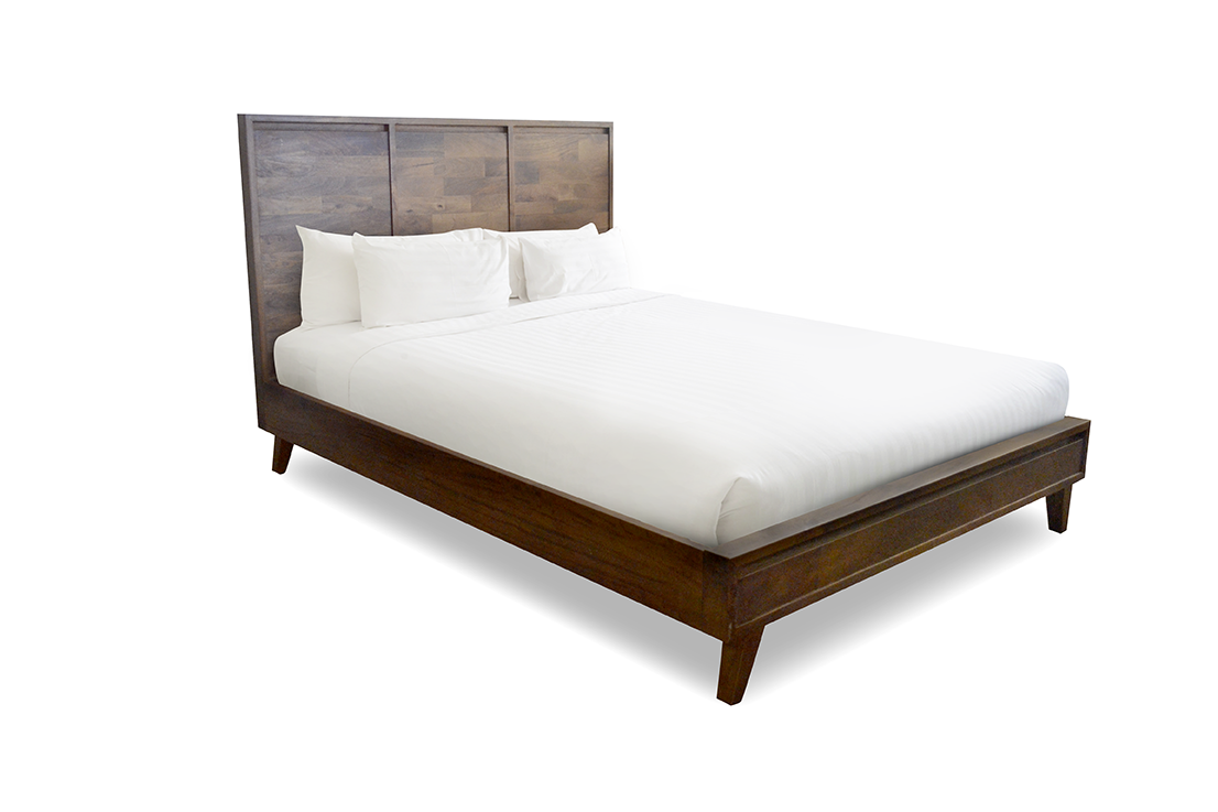 Malmo Timber Queen Bed Frame.