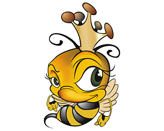 Free Cartoon Queen Bee, Download Free Clip Art, Free Clip.