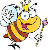 Queen Bee Clip Art.