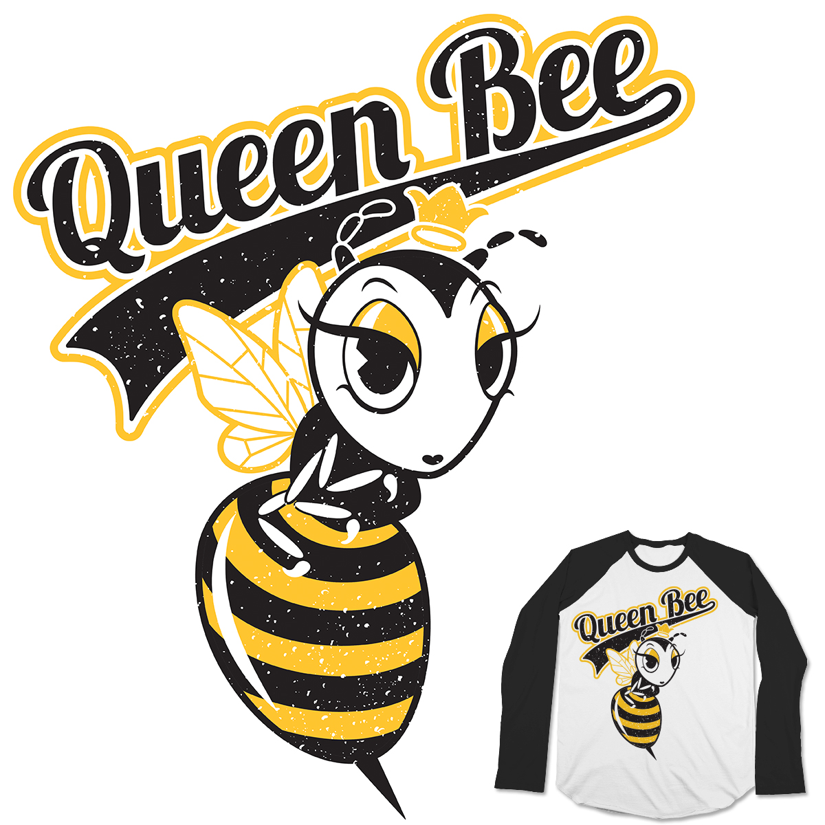 Queen Bee Clipart.