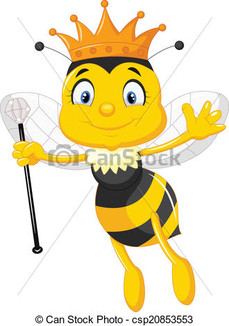 Queen bee Stock Illustrations. 1,140 Queen bee clip art images and.