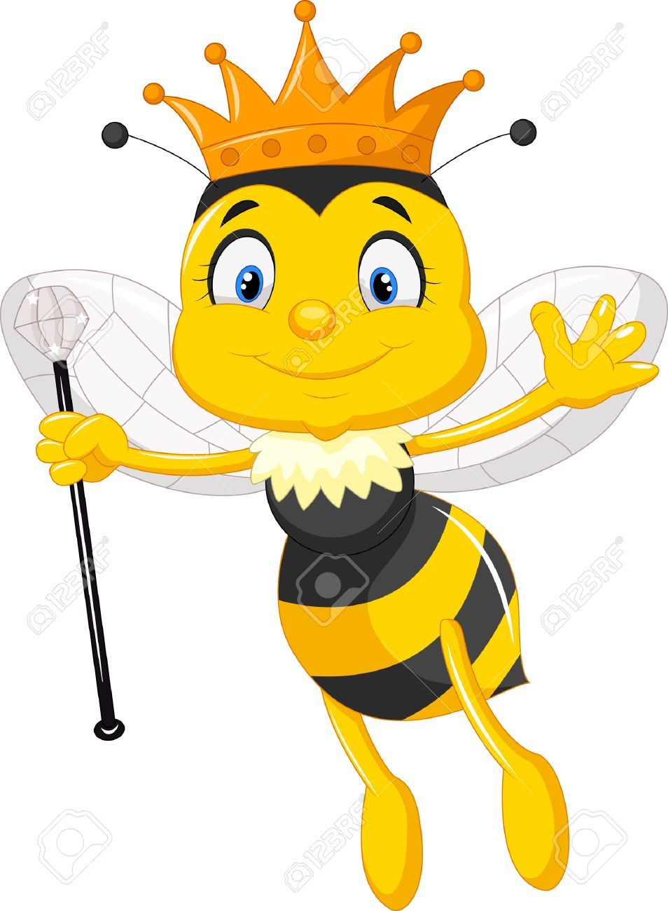 Queen bee clipart free 6 » Clipart Portal.
