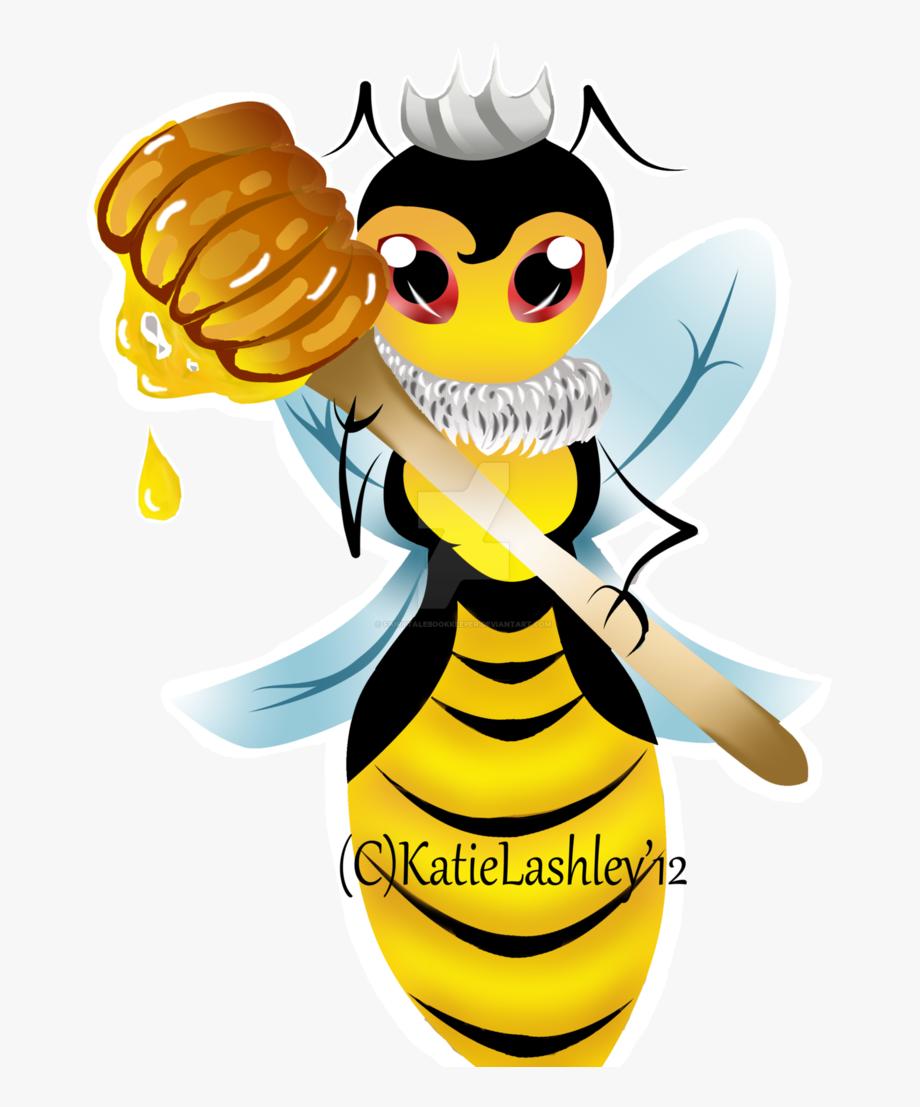 Stickers Vector Bumblebee.