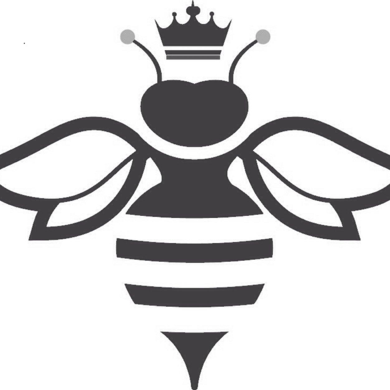 448 Queen Bee free clipart.