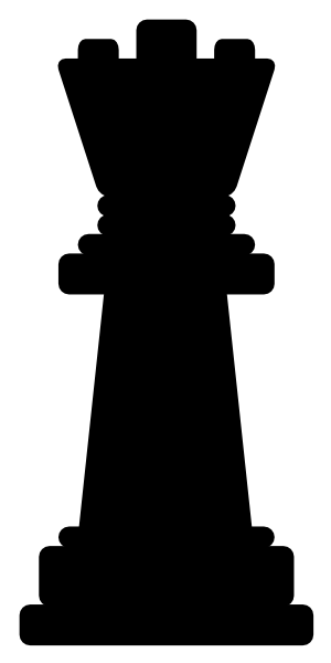 Queen Chess Piece Clip Art at Clker.com.