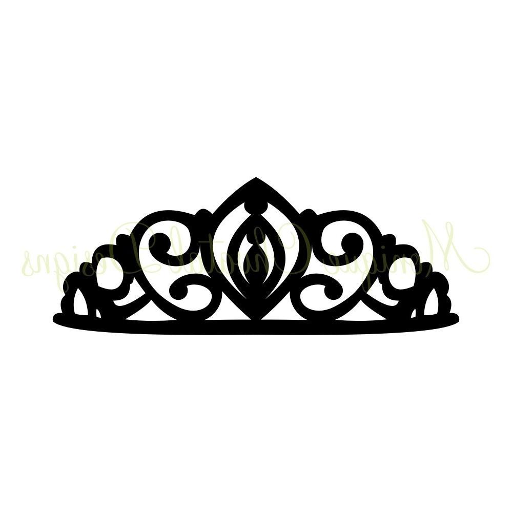 Best King And Queen Crowns Clipart Black Princess Crown Pictures.