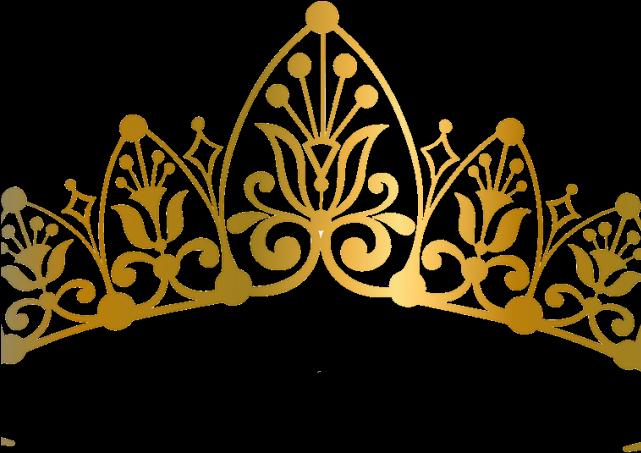 HD Queen Clipart Golden Crown.