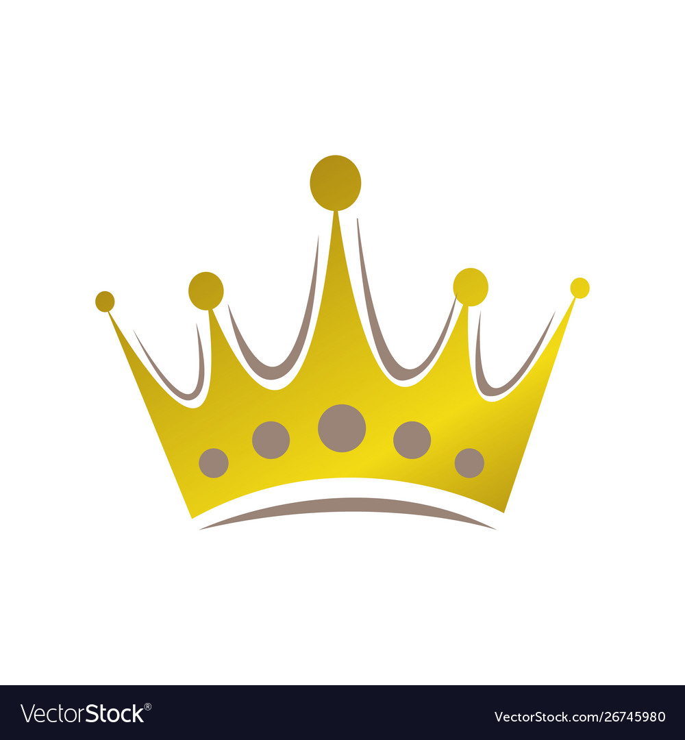 Abstract crown logo royal king queen abstract.