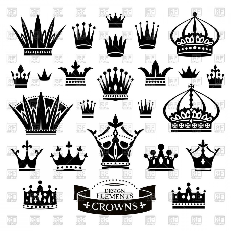 Queen Crown Vector Png.