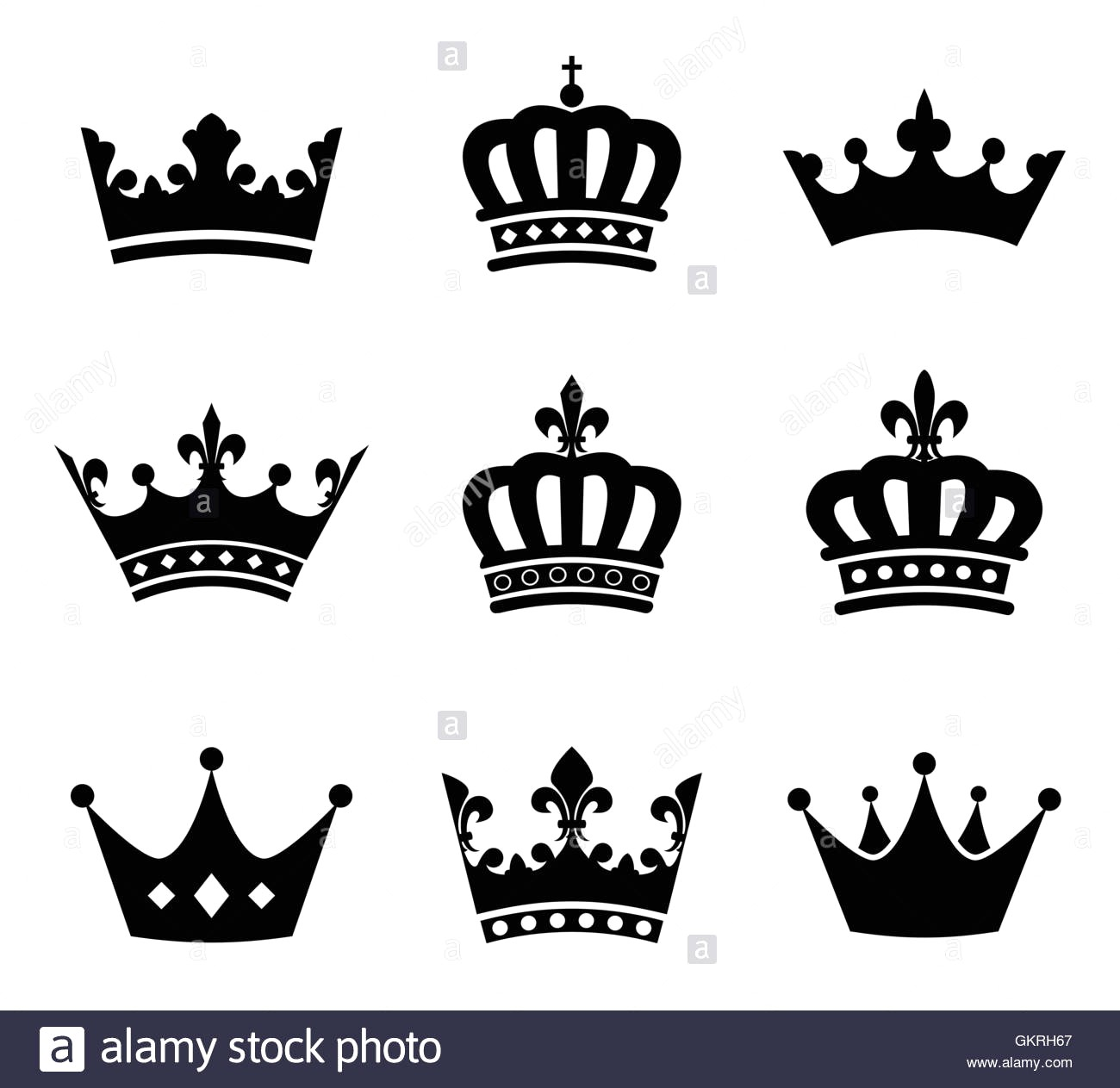 King And Queen Crown Vector at GetDrawings.com.