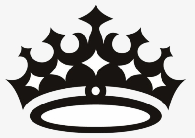Queen Crown Clipart Black And White, HD Png Download.