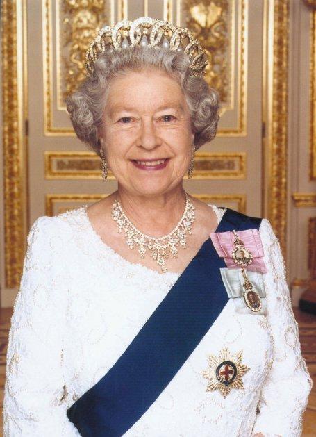 Queen elizabeth clipart.