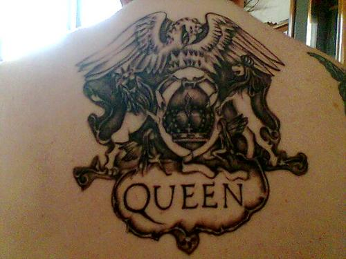 Queen Tattoo Are Only For a Queen Like You.