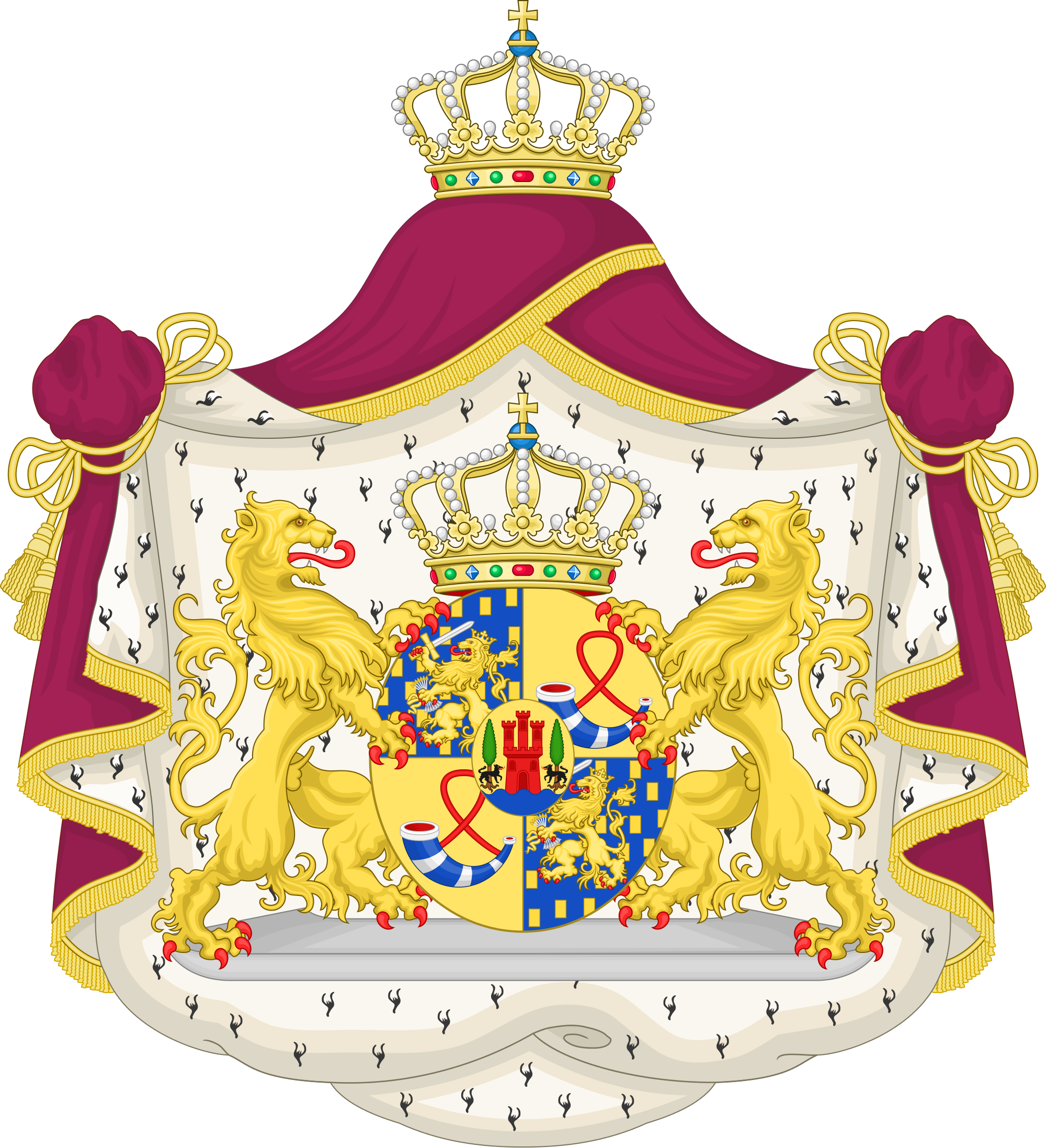 File:Coat of Arms of Maxima, Queen of the Netherlands.svg.