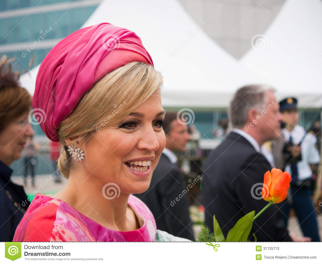 Queen Maxima Of The Netherlands, Spouse Of King Willem.
