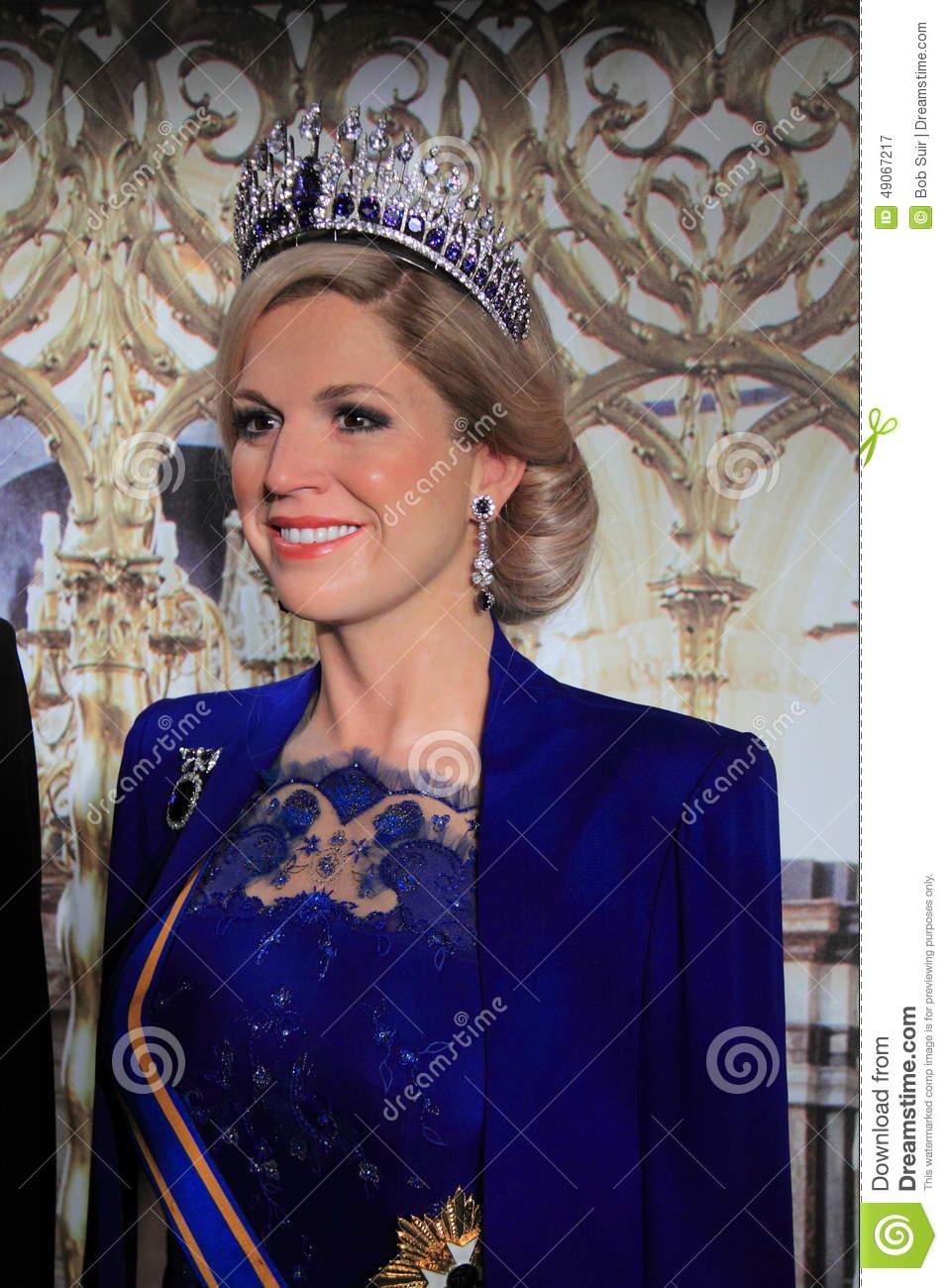 Queen Maxima Zorreguieta Editorial Photography.